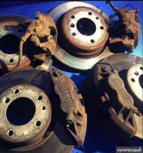 Комплект тормозных дисков на бмв е34
