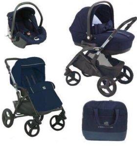 Детская коляска can dinamico elite 3 в 1