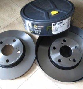 Тормозные диски передние для Шевроле Круз