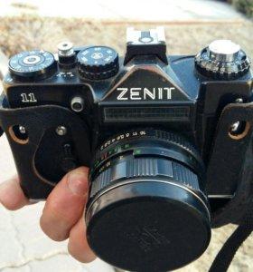 Фотоаппарат ЗЕНИТ 11 зеркальный с чехлом