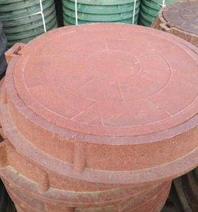 Люк полимер, люк канализационный, крышка люка