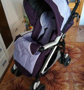 Коляска прогулочная с подножкой для старшего ребен