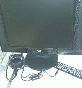 Ж.К телевизор 17 дюймов DVB-T2