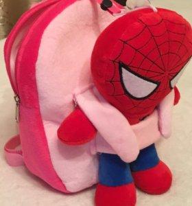 Рюкзачок детский с игрушкой