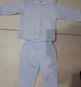 Пижама теплая р.86