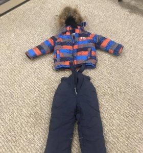 Зимний костюм 110 см