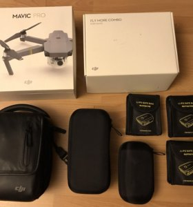 Квадрокоптер Mavic Pro Combo