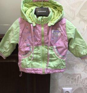 Куртка для девочки р.80