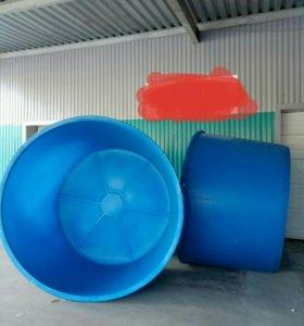 Бассейн пластиковый новый 6 кубов