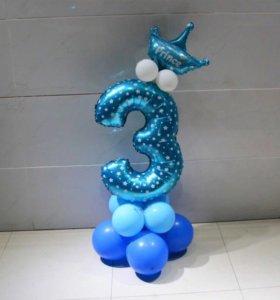 Фольгированные воздушные и гелиевые шарики
