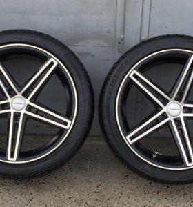 Vossen 18 разноширокие от BMW