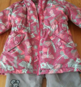 Куртка и штаны размер 104 демисезон
