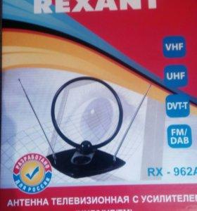 Антенна телевизионная с усилителем