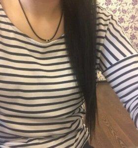 Хвост капсульных волос