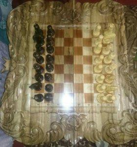 Нарды -шахматы.