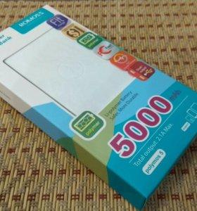 Внешний аккумулятор 5000 power bank
