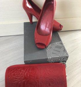 Туфли  CORSO COMO + сумочка
