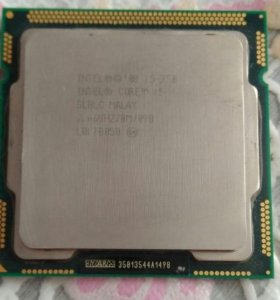 Процессор Intel Core i5-750 2.66GHz 2.5GT/s 8Mb 2x