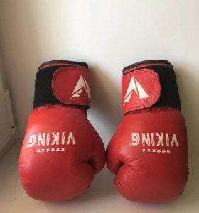 Боксёрские перчатки подростковые 6 oz