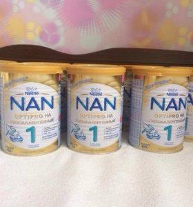 Детская смесь NAN гипоаллергенный 1