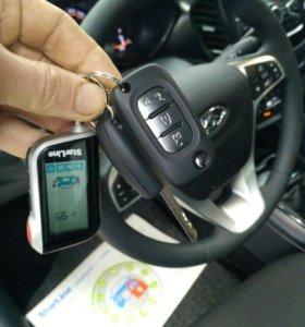 Установка Старлайн А93 GSM, GPS LADA VESTA