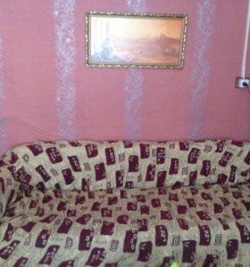 Чехол на диван и кресло б/у