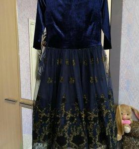 Шикарное вечернее платье, новое