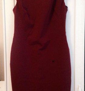 Платье Zara бордовое новое