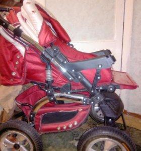 детская коляска трансформер фирмы адамекс.