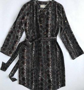 Платье Michael Kors миди с поясом
