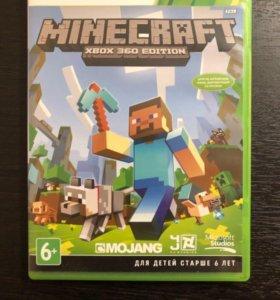 Игра Minecraft для Xbox 360.