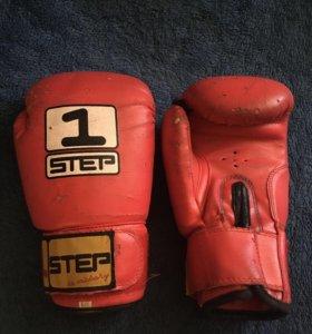 Перчатки боксерские, 6 OZ