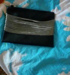 Продаётся сумка клатч (длинный ремешок прилагается