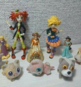 Коробка эксклюзивных фигурок, игрушек