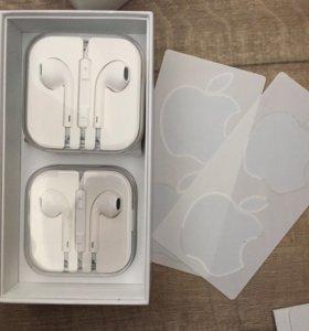 Наушники iPhone,новые. Цена за одну пару.