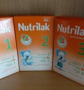 Детское питание Нутрилак #1, 2, 3
