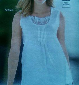 Блузка летняя. Новая. р.52