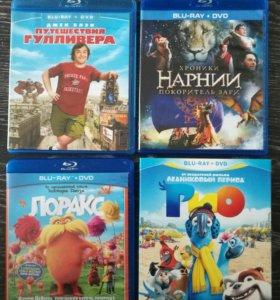 Blu-ray фильмы/мультфильмы (лицензия)