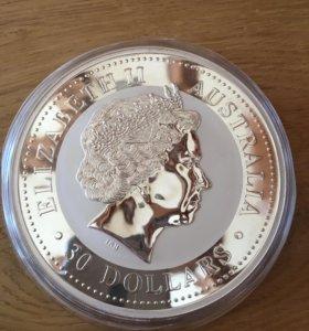 Серебряная монета 1 кг