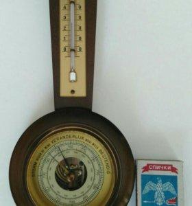 Барометр-термометр