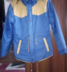 Куртка весна-осень р128-134