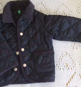 Куртка детская на 9-12 месяцев