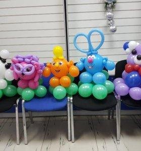 Фигурки из шариков