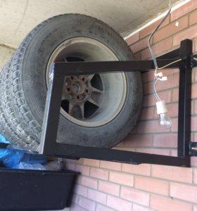 Полка стеллаж для колёс / шин
