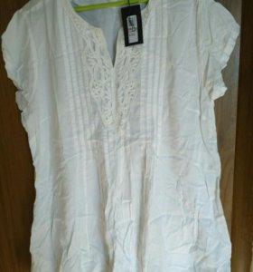 Красивая блузка 52-54