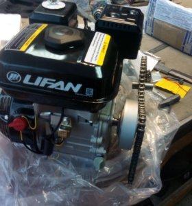 Двигатель лифан 4л.с. в комплекте со сцеплением