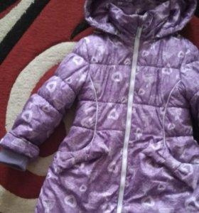 Курточка на девочку ...зима...