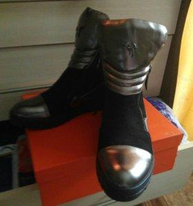 Ботинки демисезонные новые