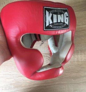 Шлем KING head guard full coverage premium leather