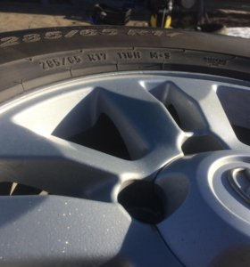 Колеса,диски Land Cruiser, 285/65 r17 PIRELLI